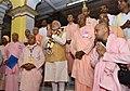 The Prime Minister, Shri Narendra Modi offering prayers at the Gaudiya Math, in Kolkata on February 21, 2016.jpg