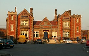 Needham Market railway station - Needham Market railway station in 2007