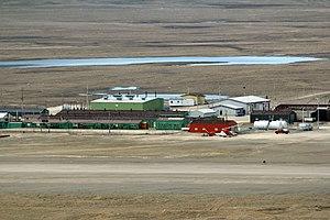 Resolute Bay Airport - Image: The Resolute Bay Airport