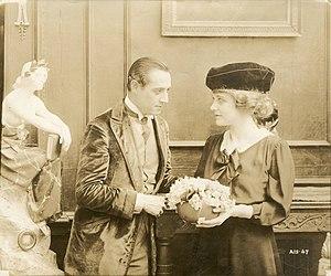 The Rise of Jennie Cushing - Still with Elliott Dexter and Elsie Ferguson