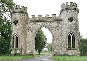 Redlynch, Somerset - Image: The Towers geograph.org.uk 567471