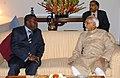The Vice President of Ghana, Mr. Alhaji Ali Mahama meeting with the Vice President, Mohammad Hamid Ansari, in New Delhi on March 20, 2008.jpg