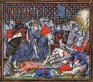 The battle between the Flemish and the French at Cassel.jpg