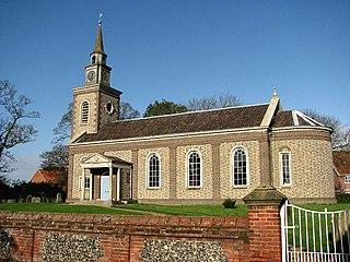 Bawdeswell Human settlement in England