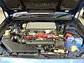 The engineroom of Subaru WRX STI Type S (CBA-VAB).jpg
