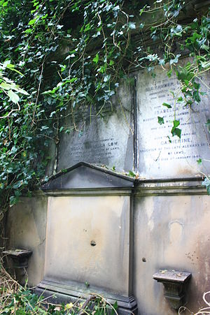 David Low (agriculturalist) - The grave of David Low, Warriston Cemetery, Edinburgh