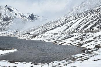 The lake at Sela pass.jpg