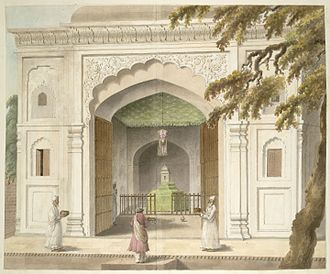 107th (Bengal Infantry) Regiment of Foot - The mausoleum of Hafiz Rahmat Khan Barech, Regent of Rohilkhand, at Bareilly, India