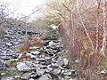 The middle section of the 2nd pitch of the Ffridd Incline - geograph.org.uk - 320636.jpg