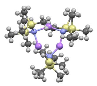 "Lithium bis(trimethylsilyl)amide - Image: The real ""Li N(Sitms 2 )2"""