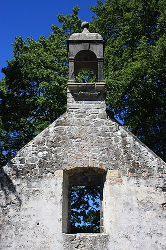 Dollar, Clackmannanshire - The ruins of Old Dollar Parish Church