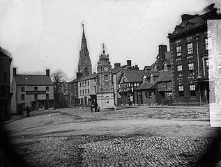 The square, Rhuthun