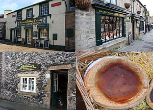 Bakewell - Three shops claiming to own the original recipe of the Bakewell pudding