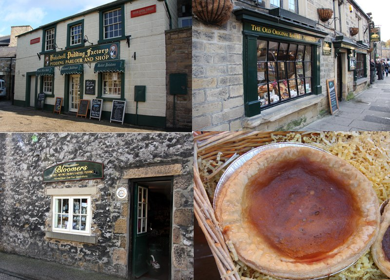The three Bakewell pudding shops
