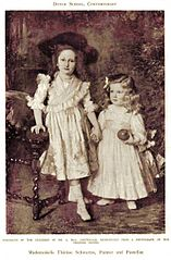 Portraits of the Children of Mr. A. May