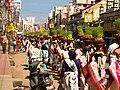 Thevar Jayanthi in Madurai, 2007, procession.jpg