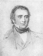 Thomas Babington Macaulay at the age of forty-nine � after an engraving by W. Holl, from a drawing by George Richmond