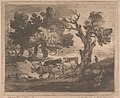 Thomas Gainsborough - Wooded Landscape with Herdsman and Cows - B1977.14.11605 - Yale Center for British Art.jpg