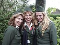 Three costumed female soldiers germany liberty festival Brielle.jpg