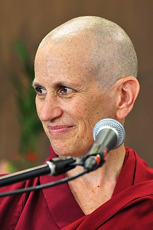 English: Ven. Thubten Chodron