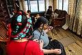 Tibetan Female Headdress in Kham Derge Mesho.jpg