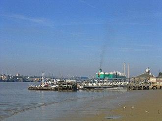 MS Norstream - Image: Tilbury Ferry Dock, Tilbury, Essex geograph.org.uk 26764