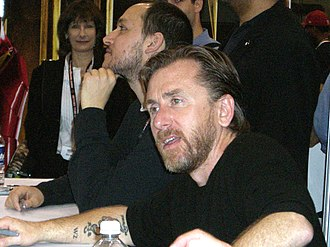 Tim Roth - Roth (Emil Blonsky / Abomination in The Incredible Hulk) at a 2008 Marvel booth signing