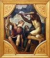 Tintoretto, tavole per un soffitto a palazzo pisani in san paterniano a venezia, 1541-42, giudizio di re mida.jpg