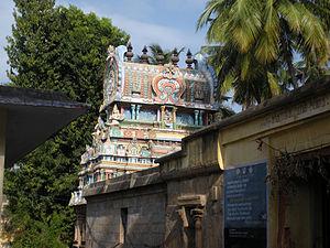 Sundararaja Perumal temple - Tharaga Vimanam, the roof over the sanctum