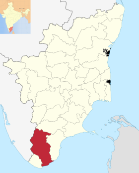 Localisation de District de Tirunelveli