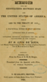 Title Page of Memoir Upon the Negotiations Between Spain and the United States of America Which Led to the Treaty of 1819.png