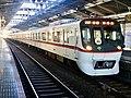 Toei Series 5300 5320F 60th Anniversary Headmark in Yotsugi Station 01.jpg