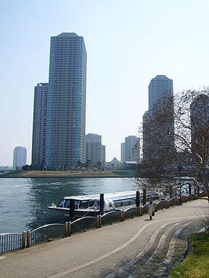 Tokyo Mizube Line - Image: Tokyo mizube cruising line 01 1024