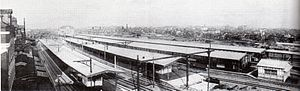 Hara Takashi - Tokyo Station in 1914