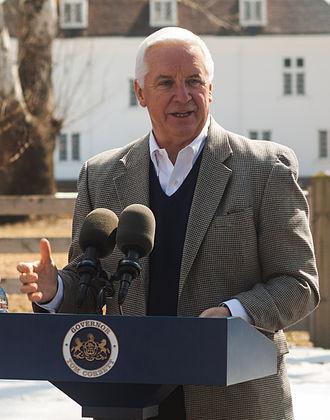 Tom Corbett - Governor Corbett gives a speech in March 2014