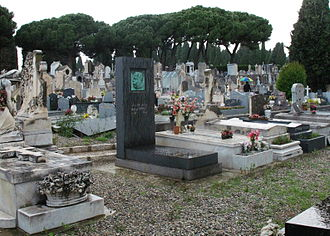 Magnus Hirschfeld - Hirschfeld's tomb in the Caucade Cemetery in Nice, France, photographed the day before the 75th anniversary of his death.