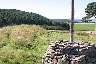 Ormond Castle - Ormond Hill where Ormond Castle once stood
