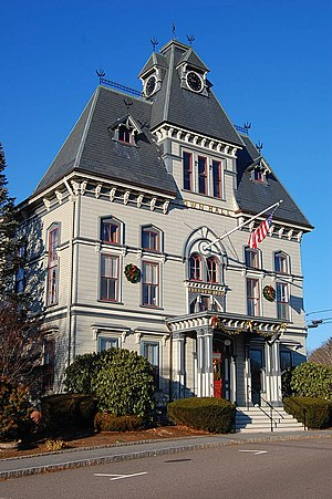 Topsfield, Massachusetts - Topsfield's Town Hall