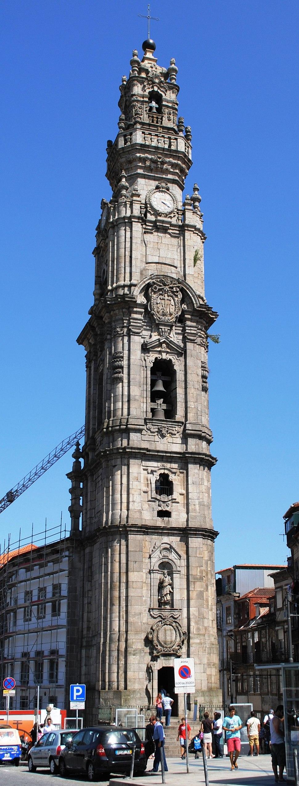 Torre dos Clérigos, Igreja dos Clérigos, Porto