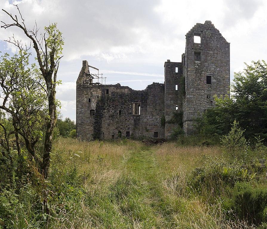 Close up of Torwood Castle