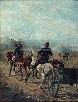 Toulouse-Lautrec - LE BOSC, BATTERIE D'ARTILLERIE, 1879, MTL.7.jpg