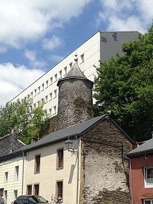 Neufchâteau, Luxembourg Province - Image: Tour Griffon, Neufchâteau, 2017 2