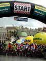 Tour de Pologne 2012, Start etapu (7718947956).jpg