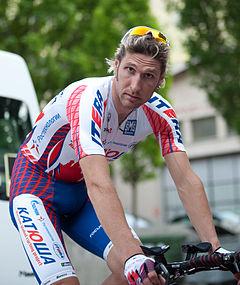 Wladimir Karpez at the Tour de Romandie 2011