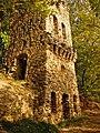 Tower, Artificial ruins near Jumpravmuiza manor (ca1850) - ainars brūvelis - Panoramio.jpg