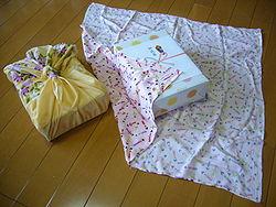 Traditional Japanese wrapping cloth,huroshiki,katori-city,japan.JPG