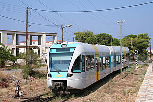 English: Greece, Hellenic Railways Organizatio...