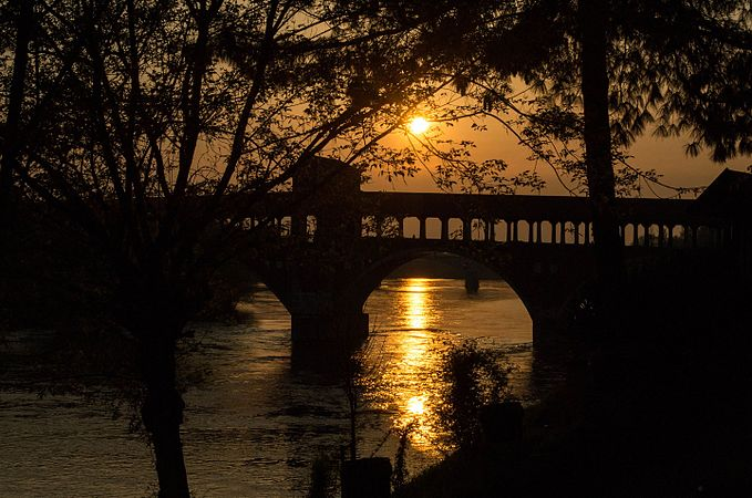 Tramonto sul Ponte Coperto.jpg