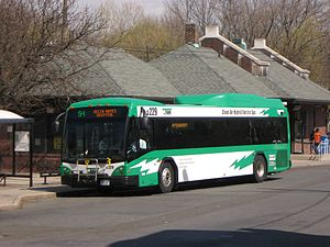 Transport of Rockland - RC229 picks up Route 94 customers in Spring Valley, due north to Helen Hayes Hospital.
