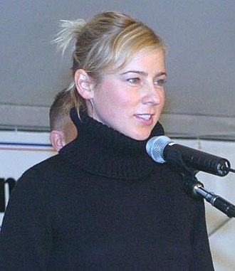 Traylor Howard - Howard during a visit to Kandahar Airfield, Afghanistan, December 19, 2005